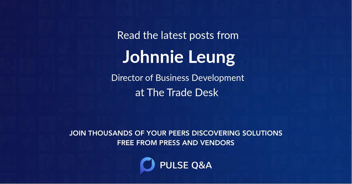 Johnnie Leung