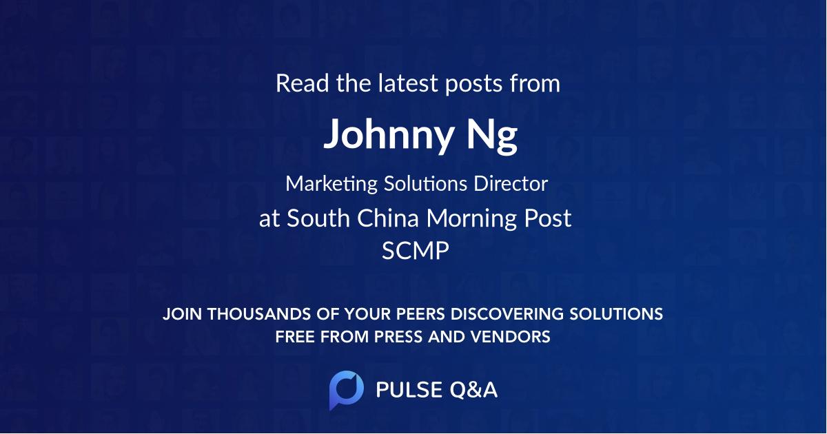 Johnny Ng