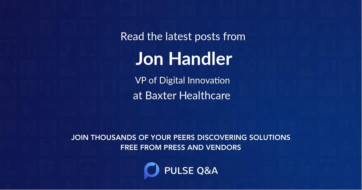 Jon Handler