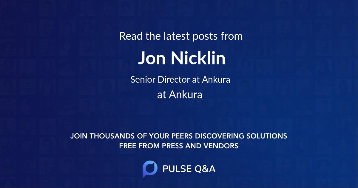 Jon Nicklin