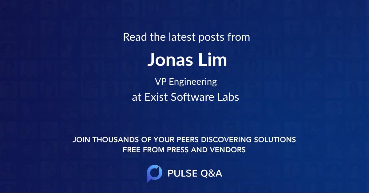 Jonas Lim
