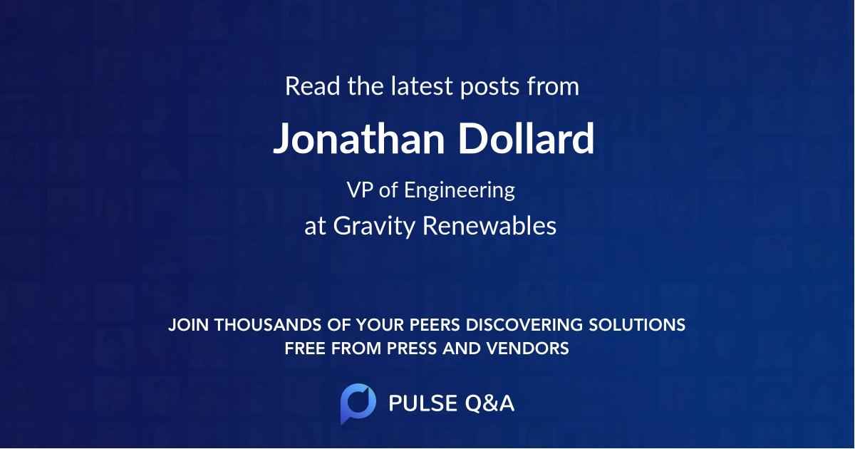 Jonathan Dollard