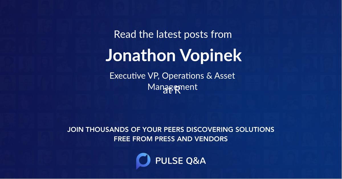 Jonathon Vopinek