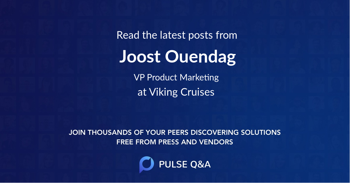 Joost Ouendag