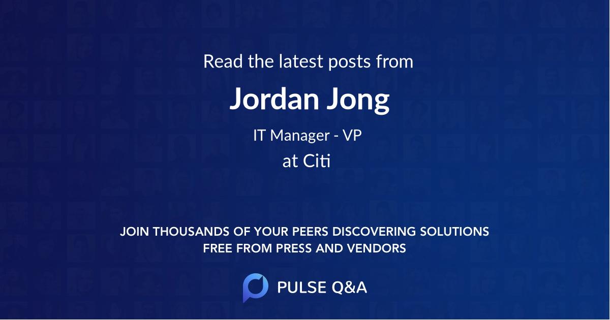 Jordan Jong