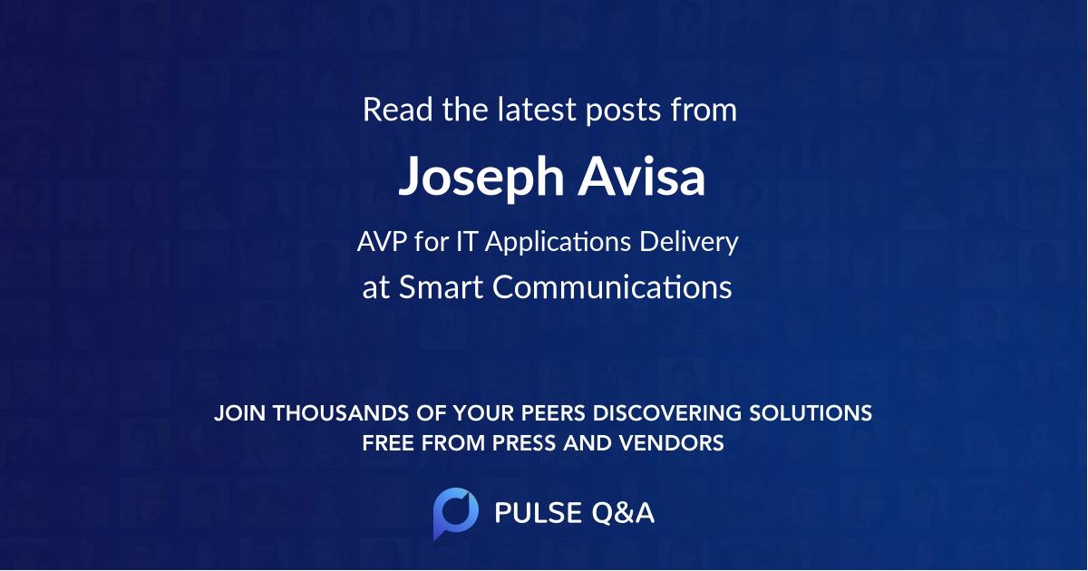 Joseph Avisa
