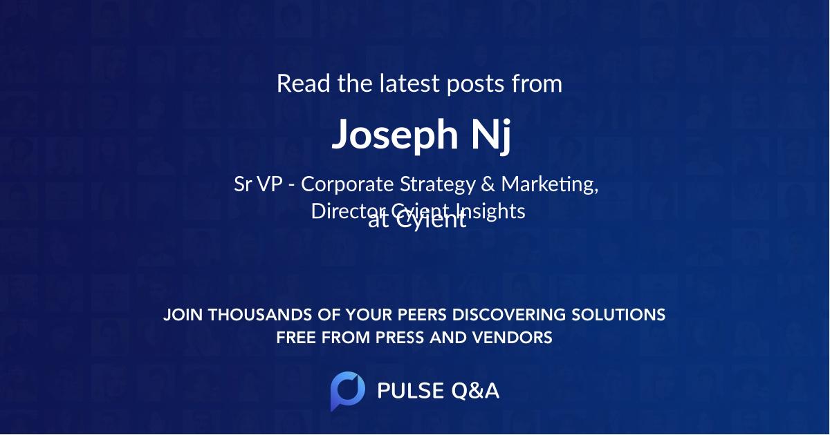Joseph Nj
