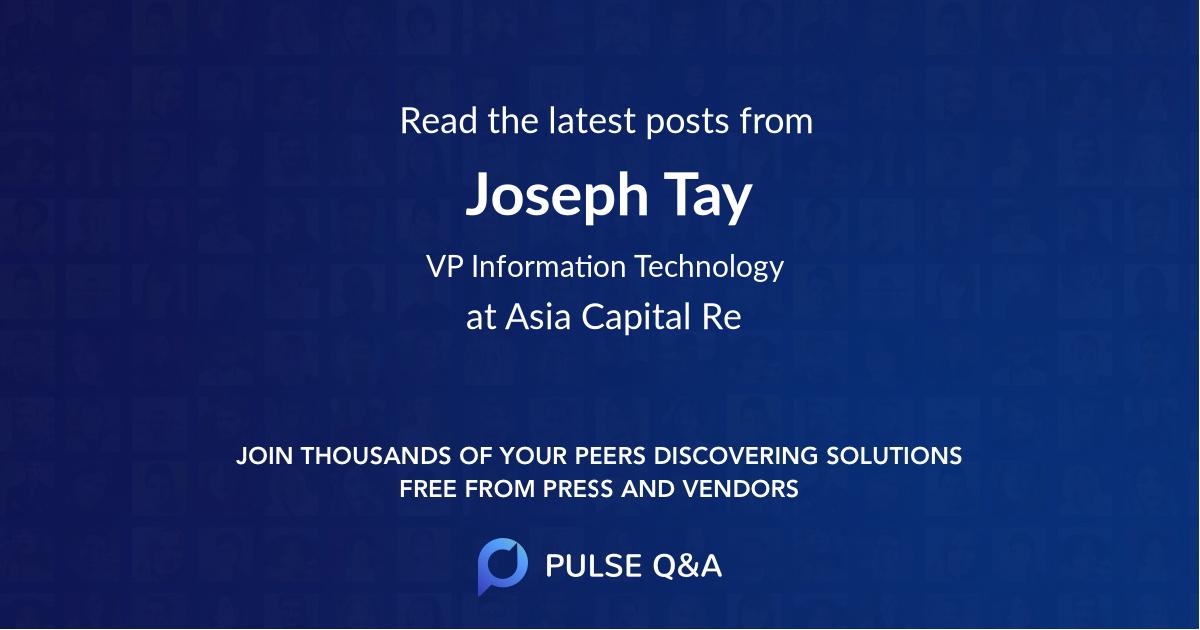Joseph Tay