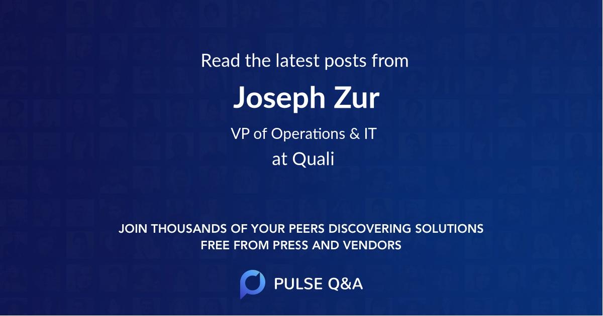 Joseph Zur