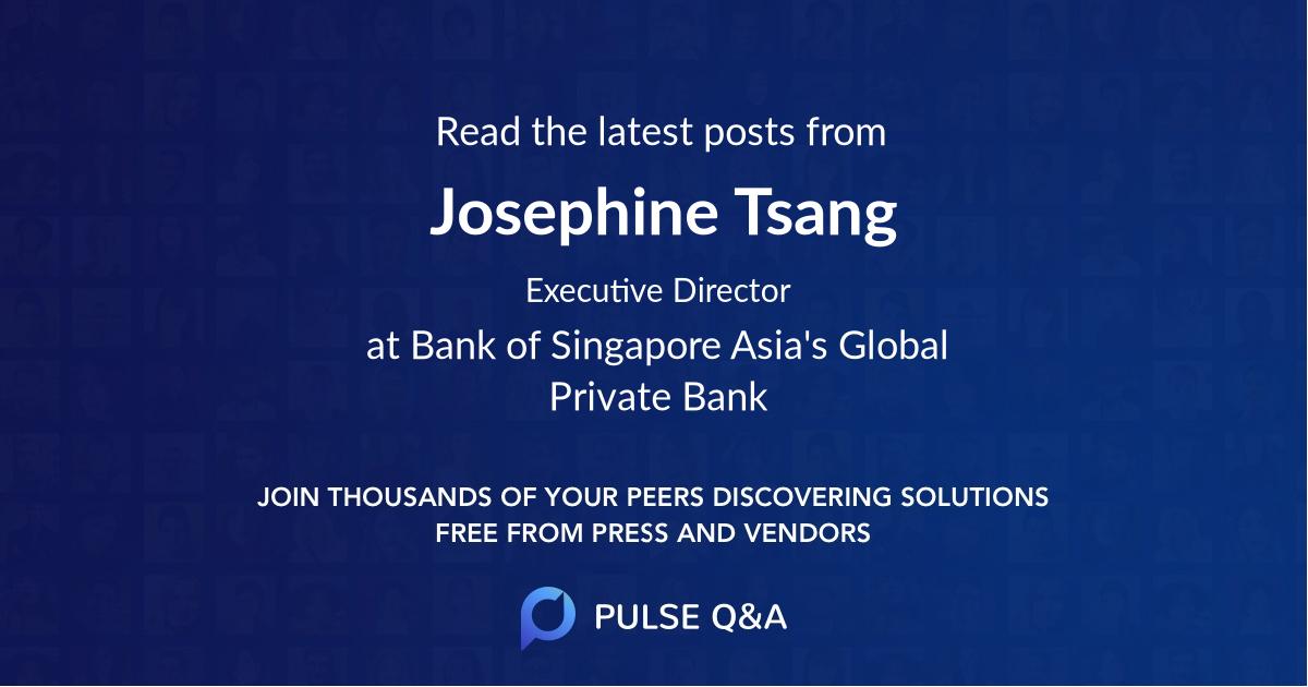 Josephine Tsang