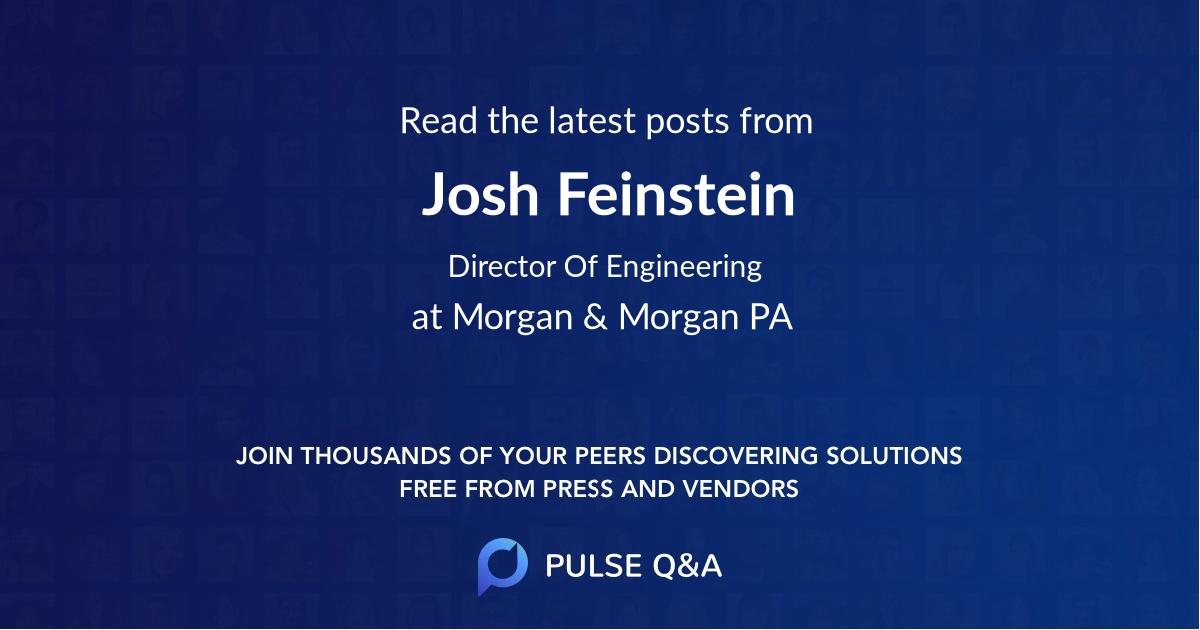Josh Feinstein