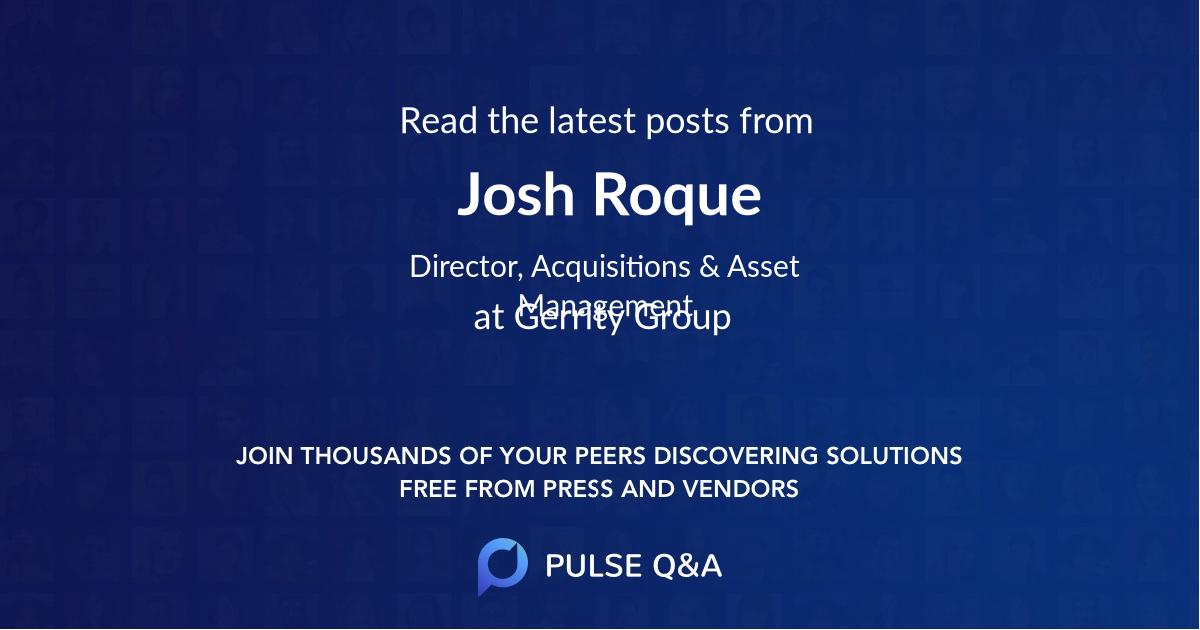 Josh Roque