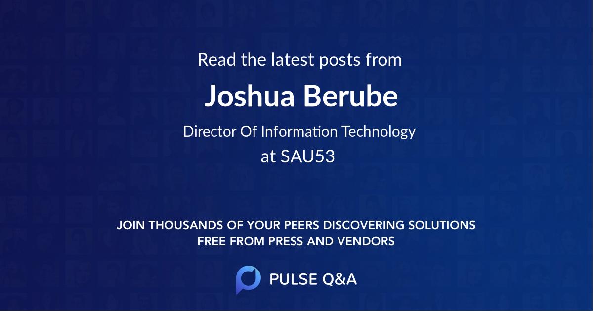 Joshua Berube