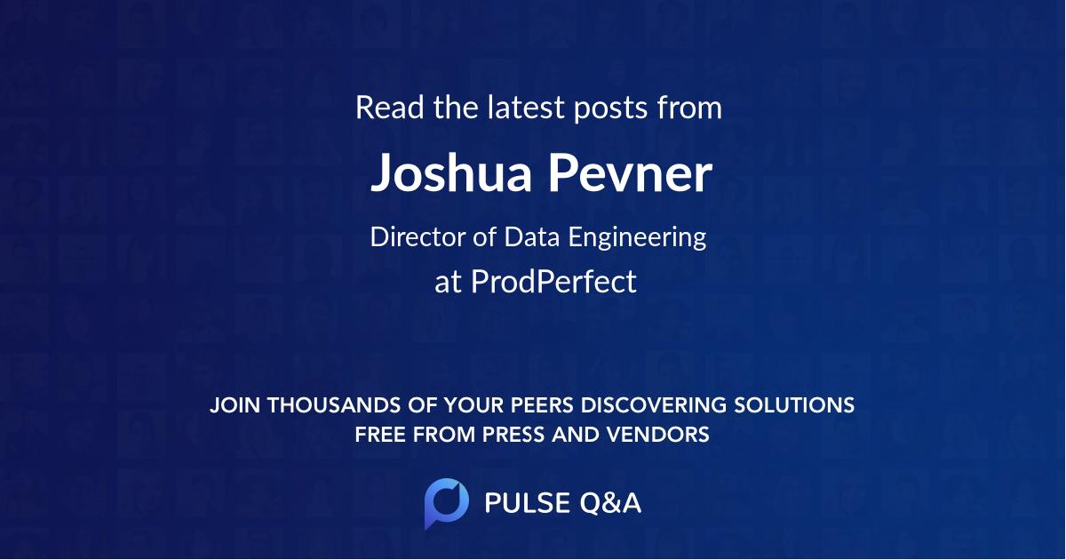 Joshua Pevner