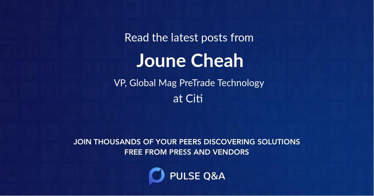 Joune Cheah