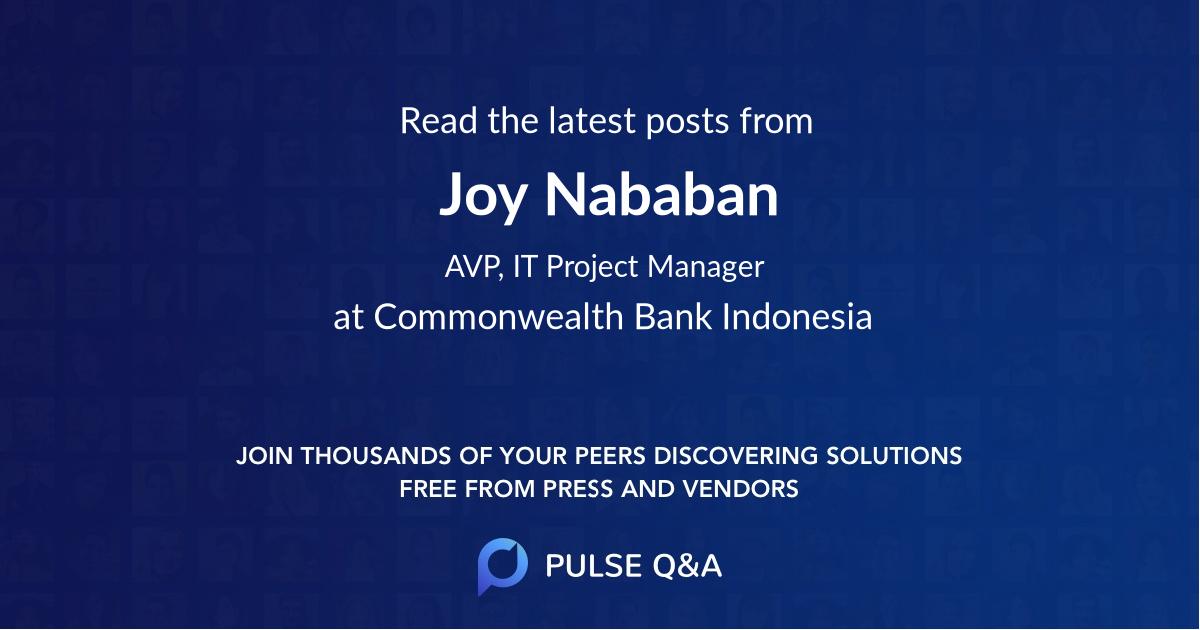 Joy Nababan