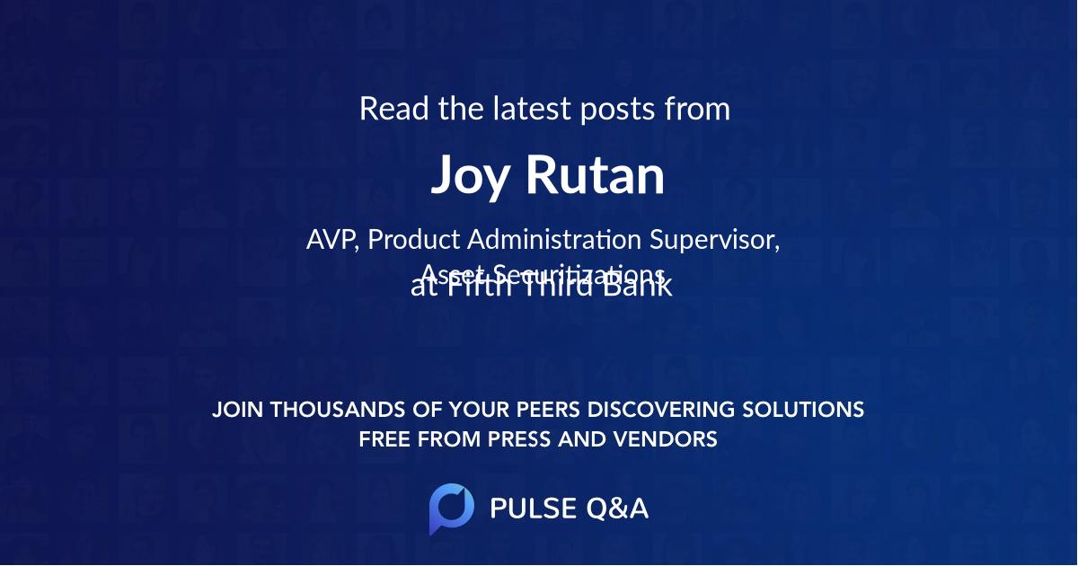 Joy Rutan