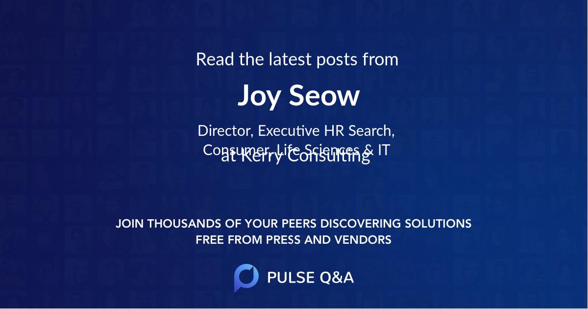 Joy Seow