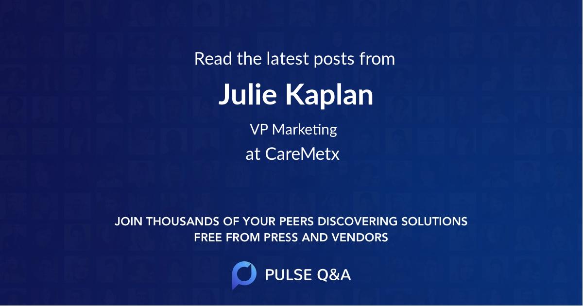 Julie Kaplan