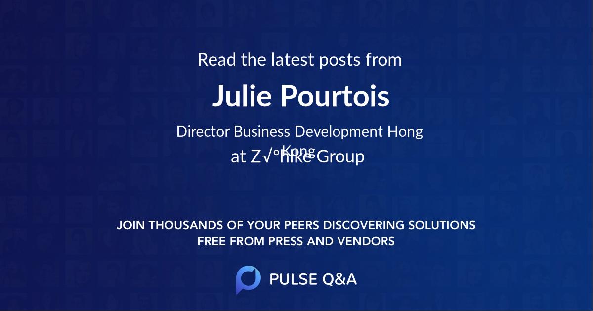 Julie Pourtois