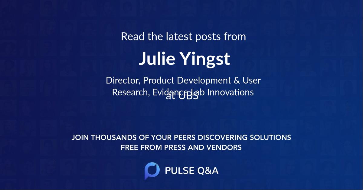 Julie Yingst
