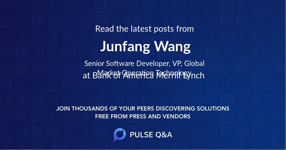 Junfang Wang