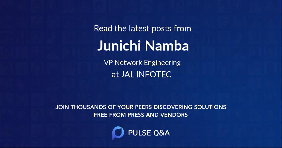 Junichi Namba