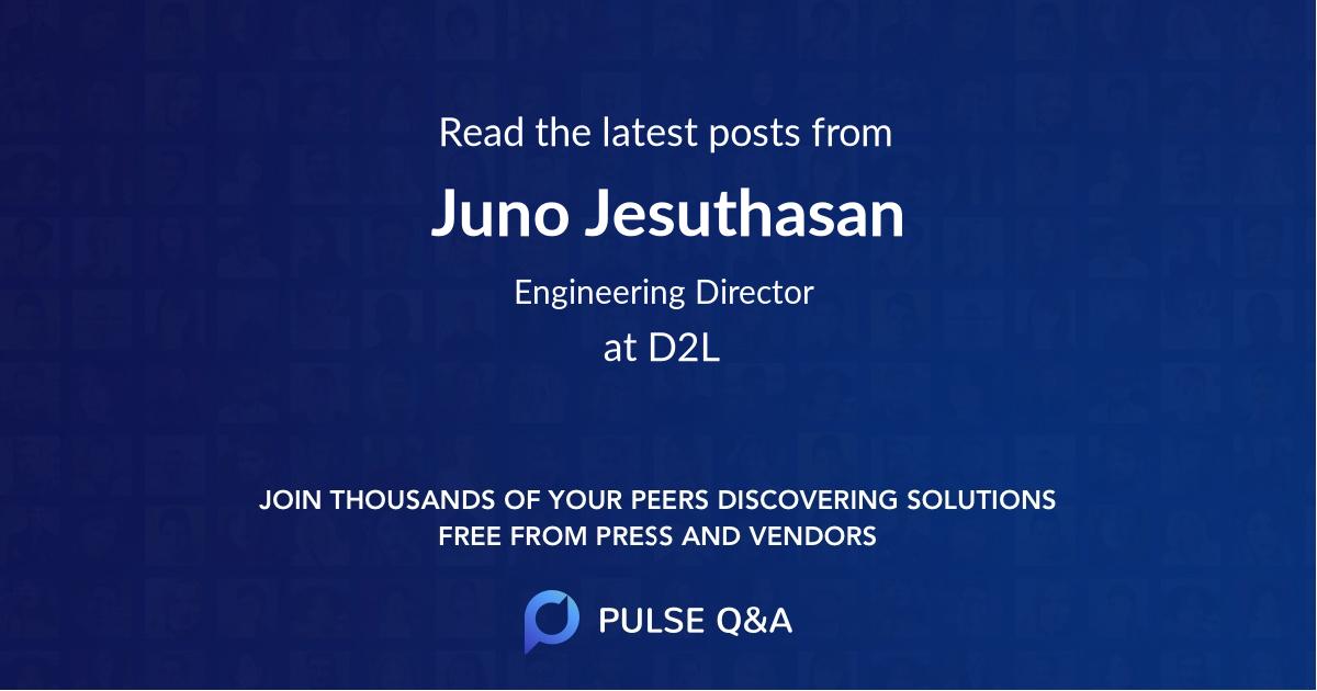 Juno Jesuthasan