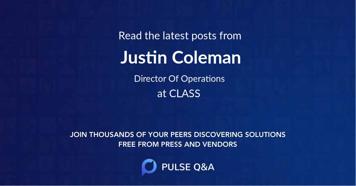 Justin Coleman