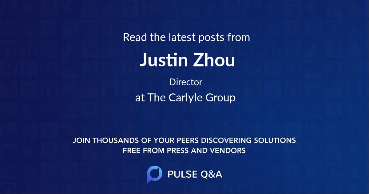 Justin Zhou