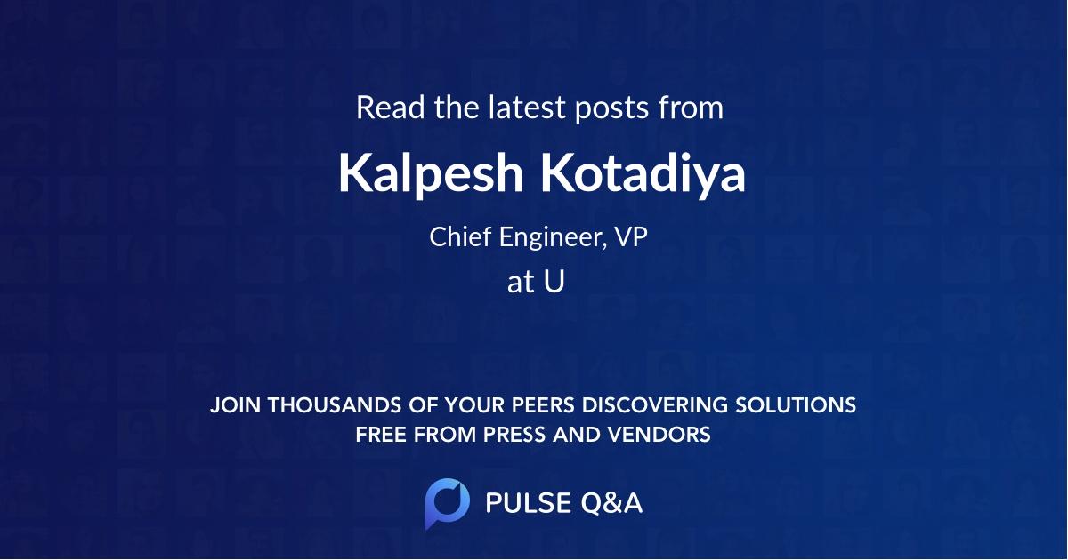 Kalpesh Kotadiya