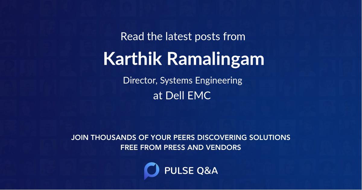 Karthik Ramalingam