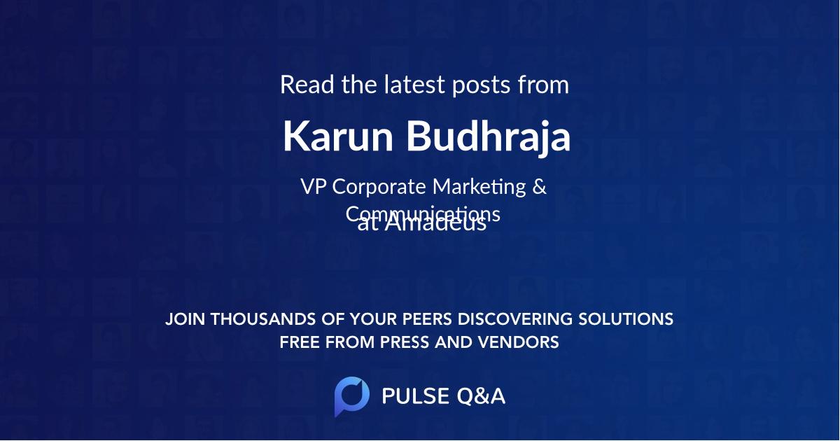 Karun Budhraja