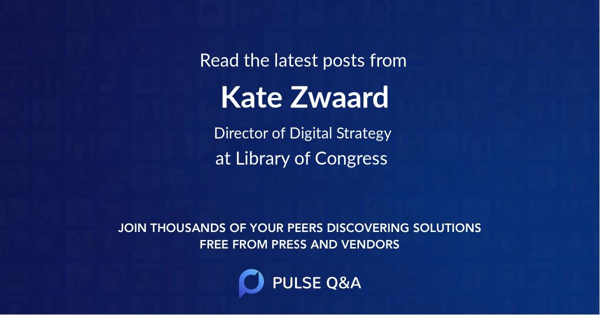 Kate Zwaard