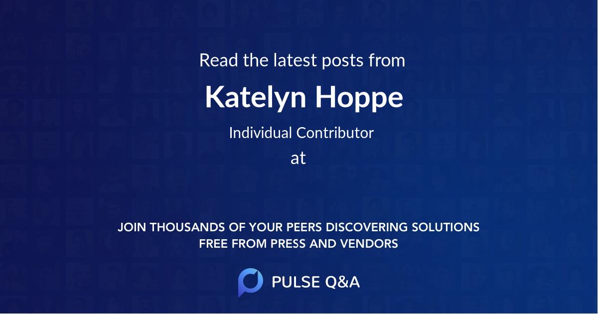 Katelyn Hoppe