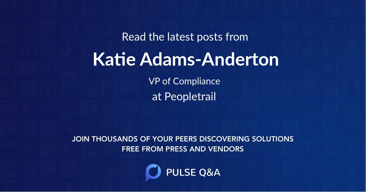 Katie Adams-Anderton