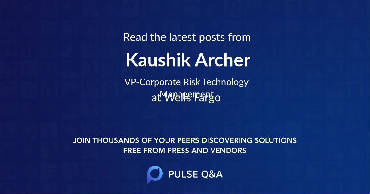 Kaushik Archer