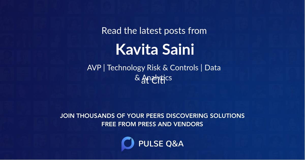 Kavita Saini