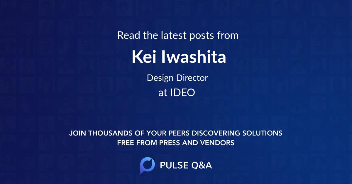 Kei Iwashita