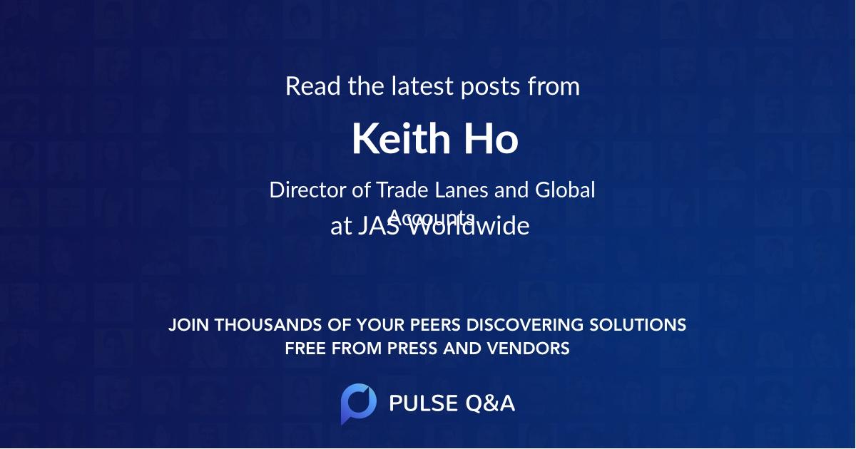 Keith Ho