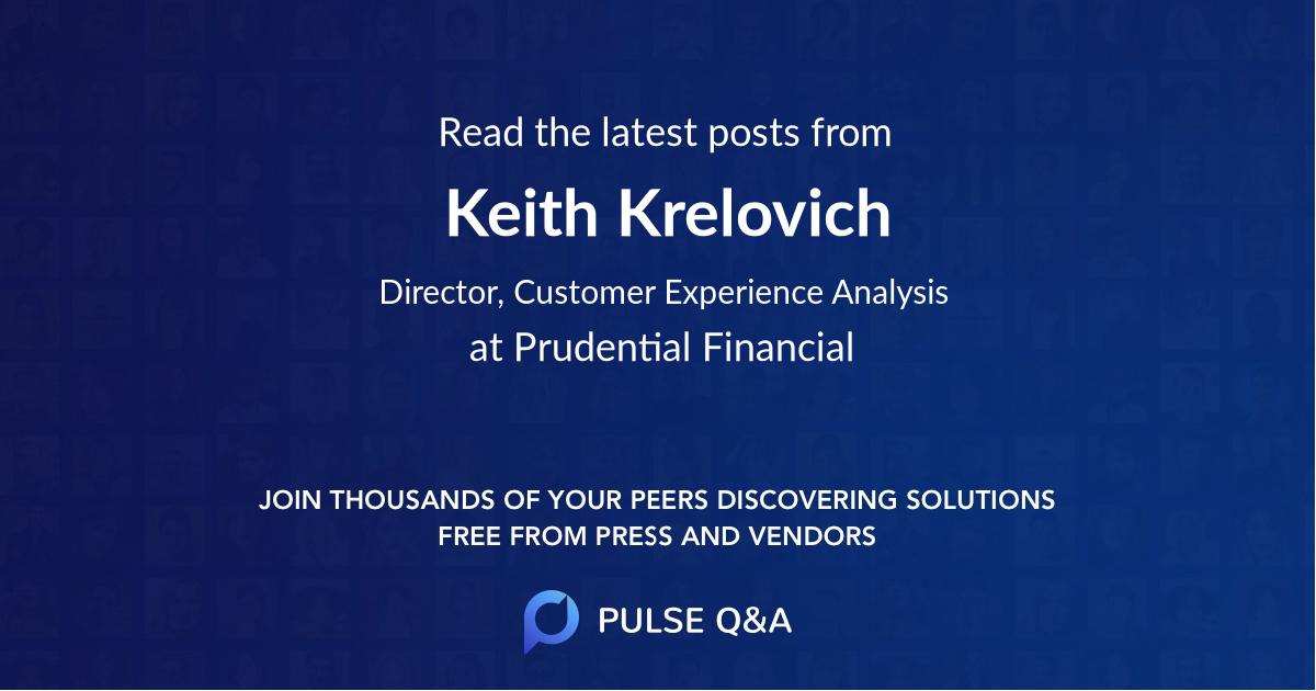 Keith Krelovich