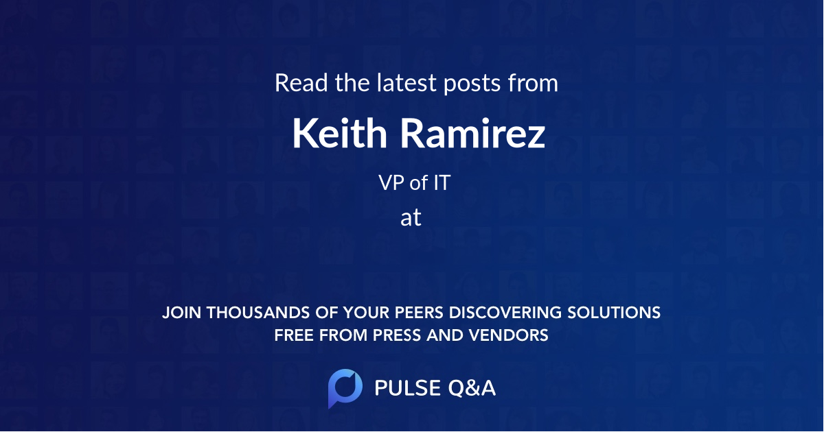 Keith Ramirez