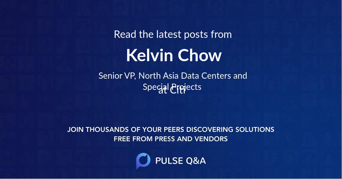 Kelvin Chow