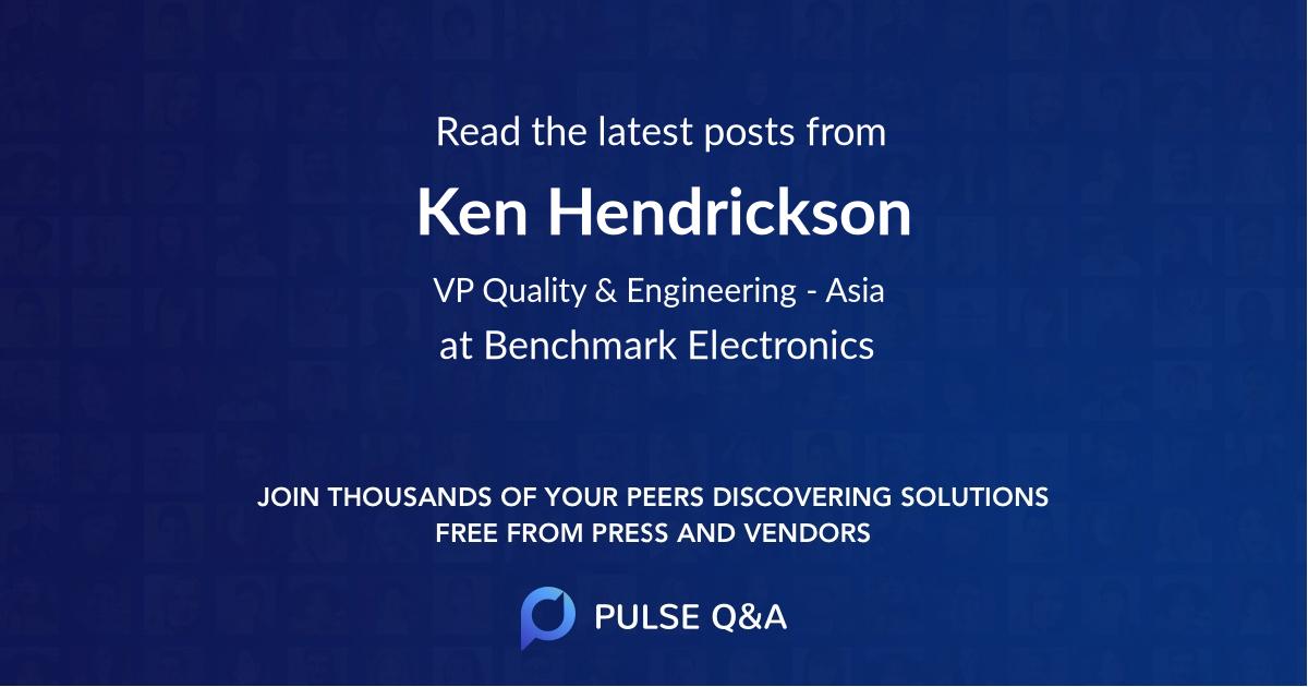 Ken Hendrickson