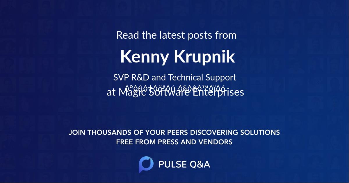 Kenny Krupnik
