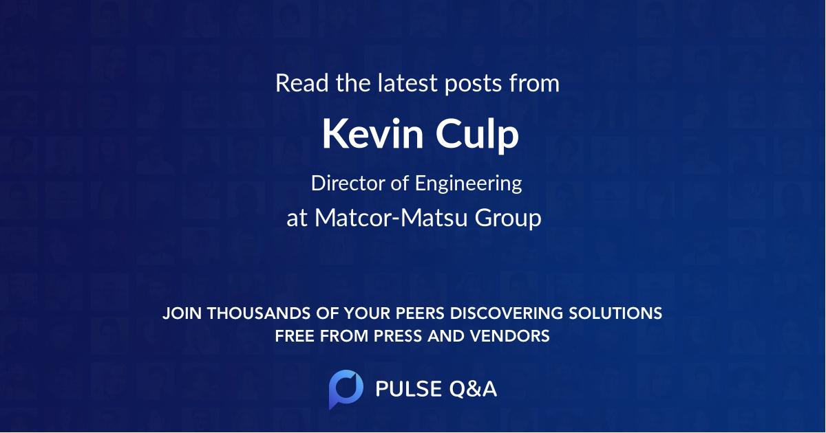 Kevin Culp