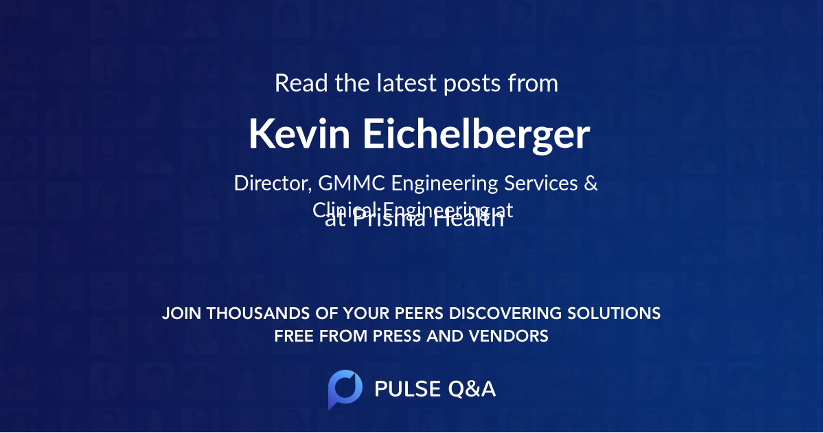 Kevin Eichelberger