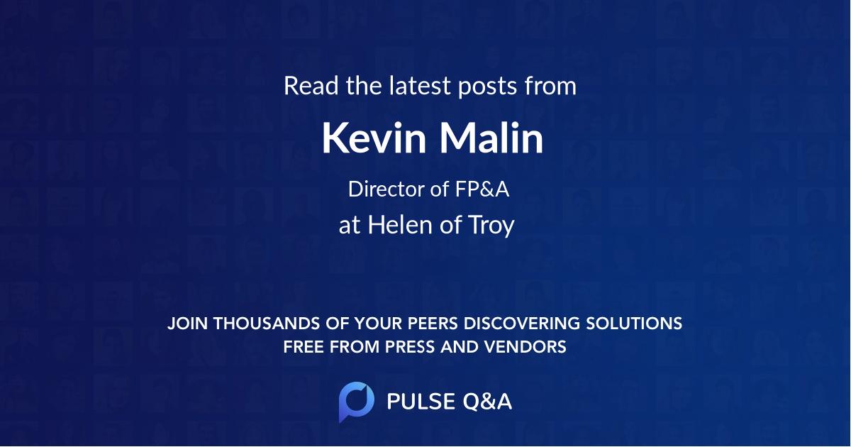 Kevin Malin