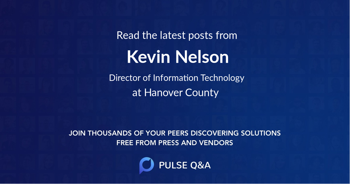 Kevin Nelson