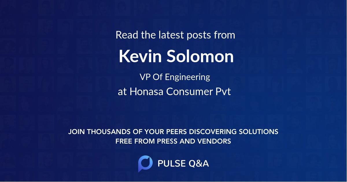 Kevin Solomon